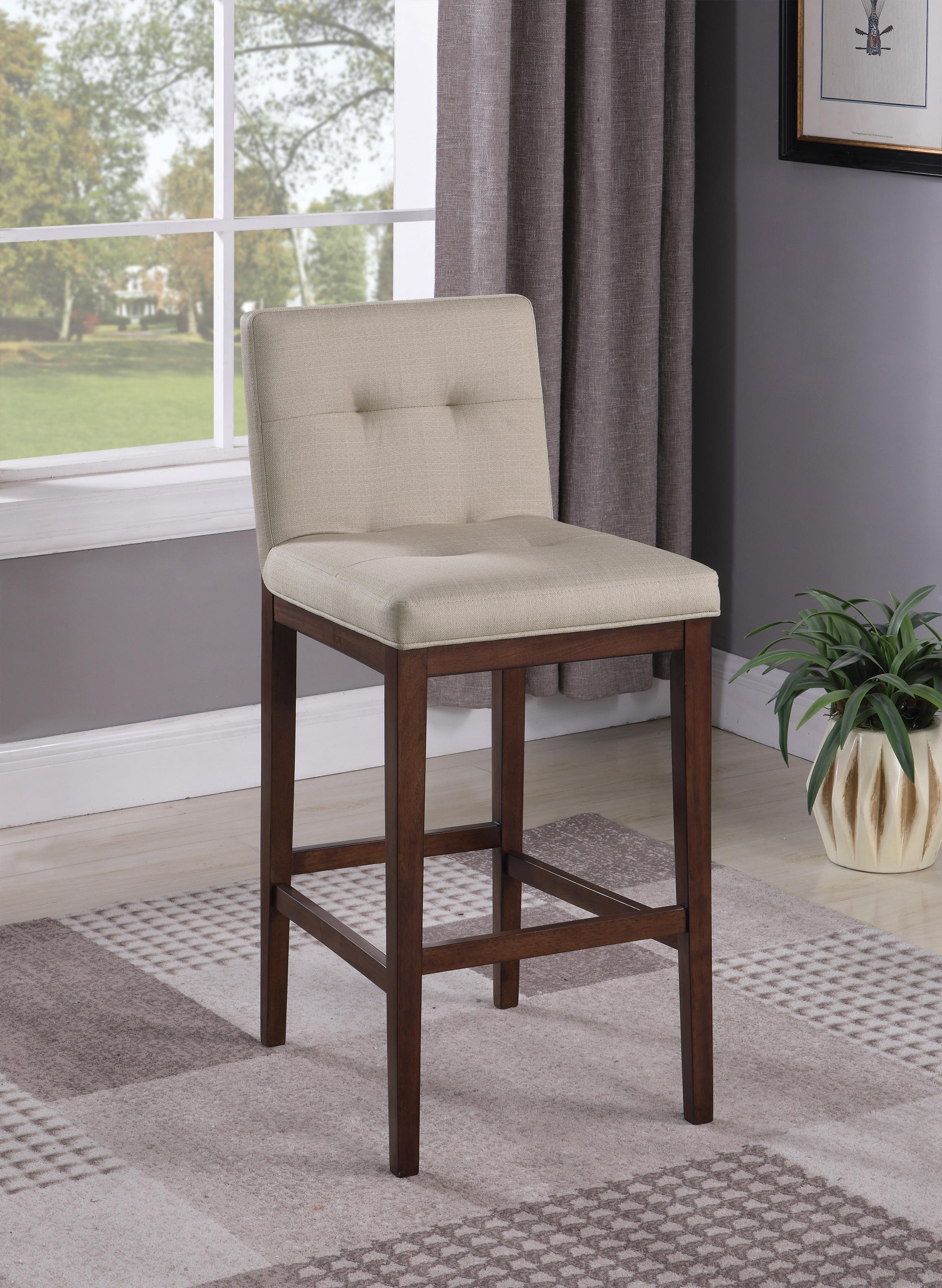 Astonishing Coaster Furniture Recreation Room Bar Stool In Cappuccino Gmtry Best Dining Table And Chair Ideas Images Gmtryco