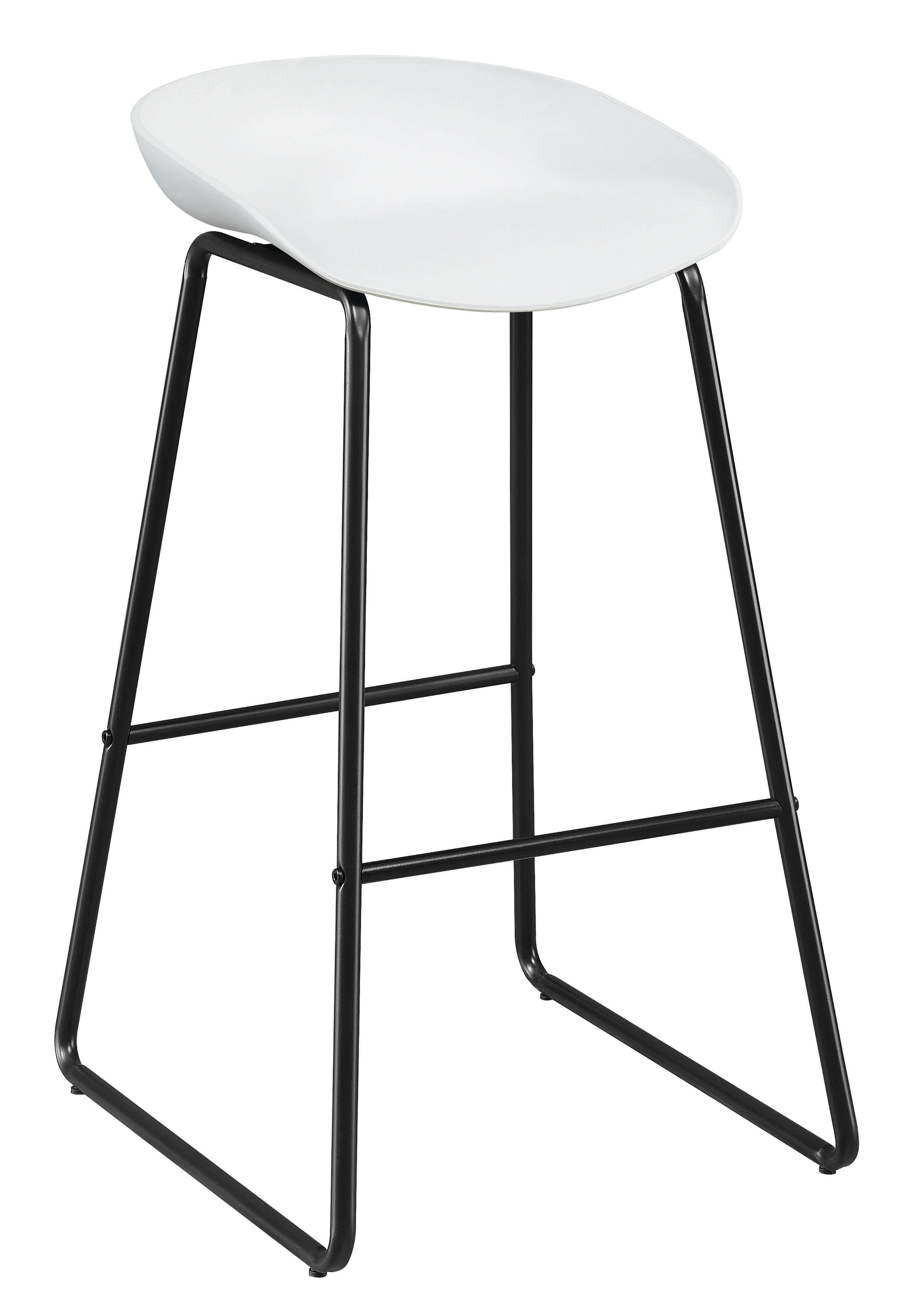 Awe Inspiring Coaster Furniture Bar Stool In White Gmtry Best Dining Table And Chair Ideas Images Gmtryco
