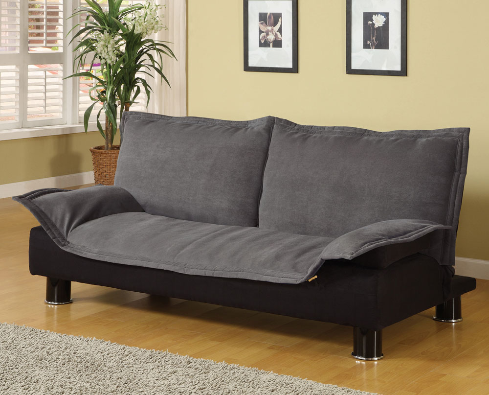 Sensational Coaster Sofa Bed In Grey Brown Machost Co Dining Chair Design Ideas Machostcouk
