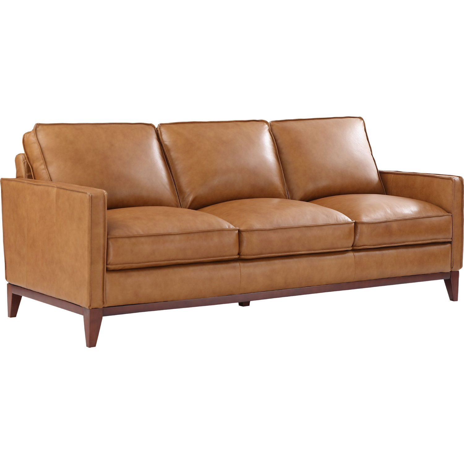 Leather Italia Newport Sofa in Camel