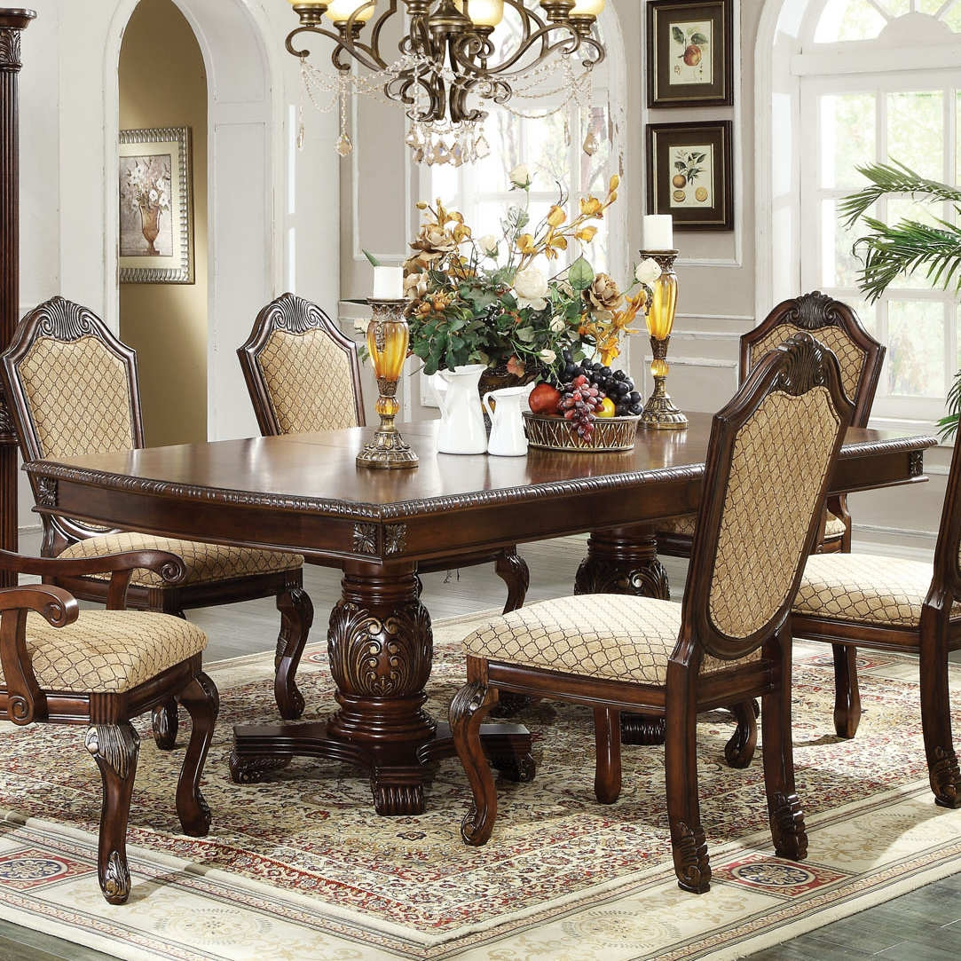 Acme Furniture Chateau De Ville Dining Room Set in Espresso