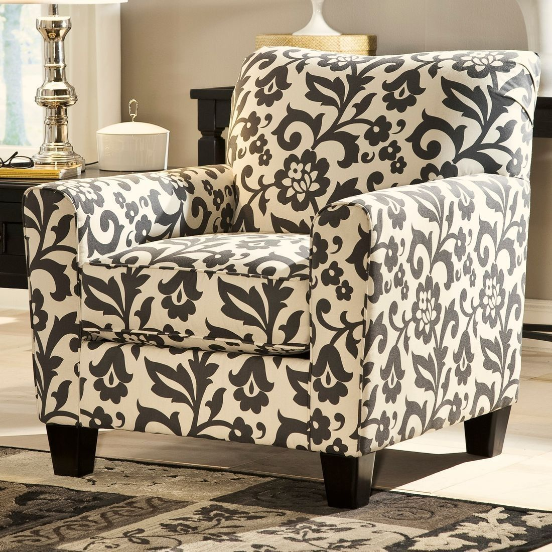 Ashley Furniture Levon Accent Chair In Charcoal